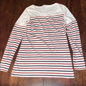 The Limited Long Sleeve Striped Top